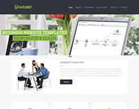 Greenster - Joomla Business Template