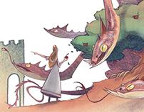 Book illustrations 2017