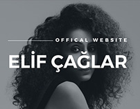 Elif Çağlar Offical Website Design