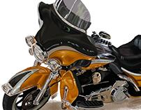 Pintura digital: Harley Davidson