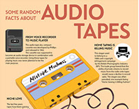 Audio Tapes - Infographic