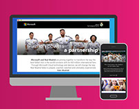 Microsoft & Real Madrid: Partnership Creative