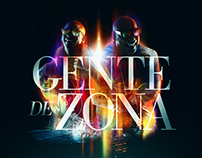 "Gente de Zona ""Visualízate"" CD cover design"