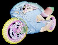Motorbike Concept in Rhino