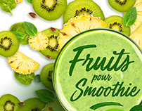 Fruits pour Smoothie - Packaging