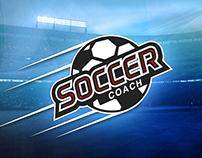 Soccer Coach Logo