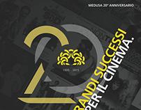 Medusa Film 20° anniversario