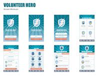 Volunteer Heroes App
