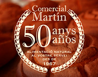 New Logo for Comercial Martin