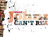 What Johnny Can't Read — Editorial Design