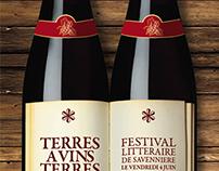 Wine Books Exhibition Invite