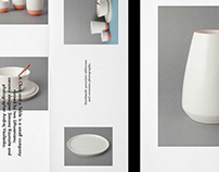 A Chair and a Table | ceramic studio identity