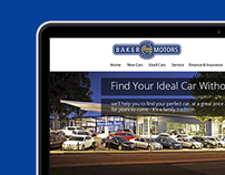Baker Motors Website Redesign