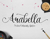 Arabella : Hand-made Script Font