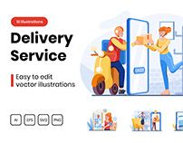 M282_ Delivery Service Illustrations