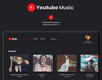 Youtube Music Desktop App (UI Design)