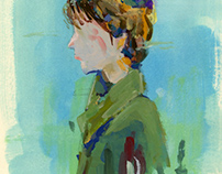 Brushwork Portraits