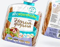 """WEIGHTCONTROL"": brand of healthy bread"