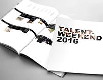 Info-mappe til Talentweekend 2016