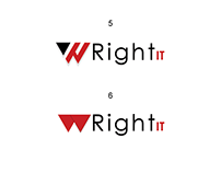 Logo design for wright-it.ca