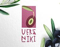 VERANIKI  logo, identity, package