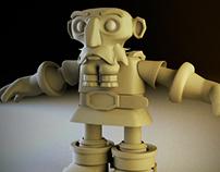 Dwarf Character design, Steps.