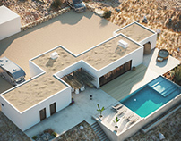 THE HOUSE IN THE DESERT CGI Visualisation