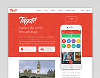 Tagstr's Responsive Website