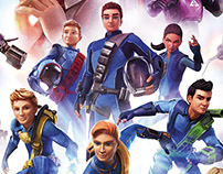 Thunderbirds Season 3 Key Art