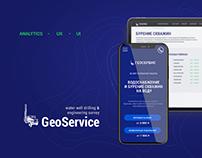 GeoService - adaptive website