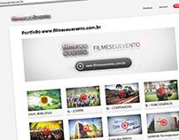 Website filmeseuevento.com.br / BIT - Curitiba - PR