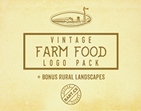 Farm Crafted Food Logos