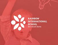 Rainbow International School / Rebranding