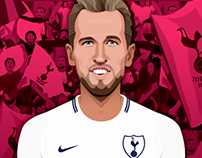 Harry Kane for LiveWire sport
