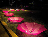 Rainco Umbrellas - Lotus Foot Prints...