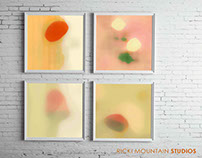 Translucent Abstractions Series - Art By Ricki Mountain