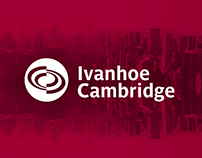 Ivanhoé Cambridge / Web design Proposition