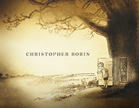 Christopher Robin Title Design