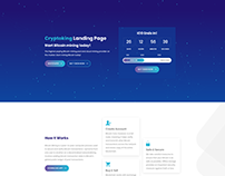 Cryptoking - Bitcoin & ICO Landing Page WordPress Theme
