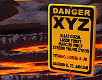 XYZ Party Posters