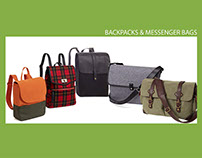 Back packs and Messenger Bags