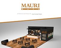 Mauri architectural stand design
