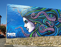 Octogirl Mural