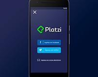 Platzi App Redesign V2