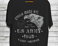 US ARMY GRAPHIC TEES