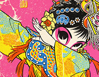 Beijing Opera Dab
