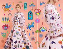 Rami Kadi Couture SS17 'Tourbillon Céleste'
