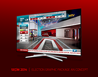 SEÇİM 2014 | ELECTION GRAPHIC PACKAGE & CONCEPT