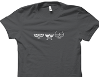 Bikes Booze Boobs T-Shirt