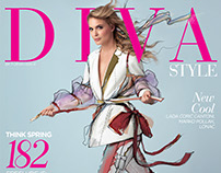 Nevena Rendeli interview & cover - Diva Style magazine